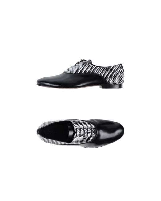 Proenza Schouler | Женская Чёрная Обувь На Шнурках