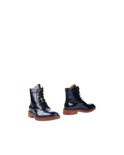 Doucal's | Мужские Синие Полусапоги И Высокие Ботинки