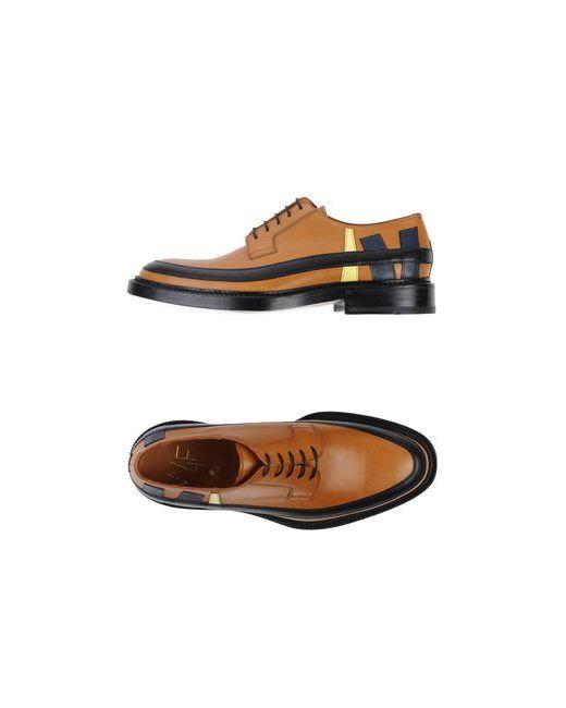 WHF WEBER HODEL FEDER | Мужская Коричневая Обувь На Шнурках