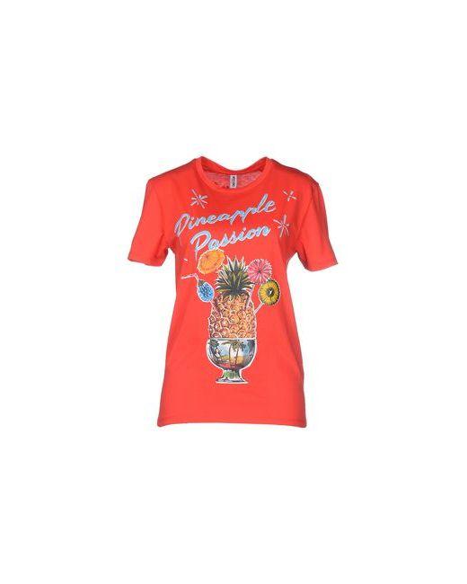 Moschino Swim | Женская Красная Футболка