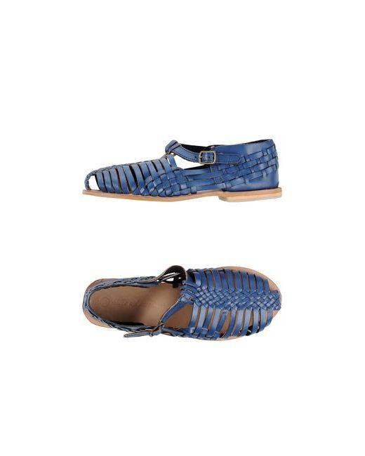 Shoes And More...   Женские Синие Сандалии