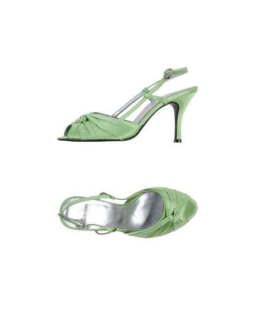 Scheilan | Женские Зелёные Сандалии