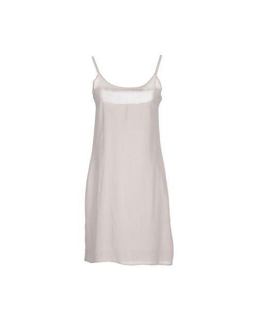 Manila Grace | Женское Серое Короткое Платье