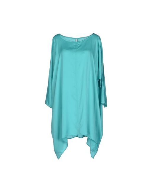 Aglini | Женское Бирюзовое Короткое Платье
