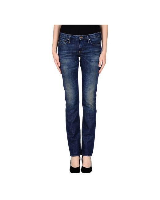 Polo Jeans Company | Женские Синие Джинсовые Брюки