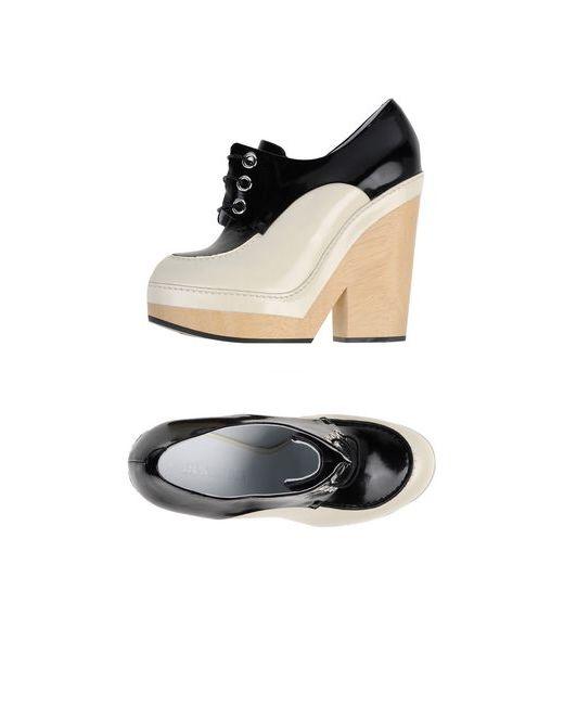 Jil Sander | Мужская Слоновая Кость Обувь На Шнурках