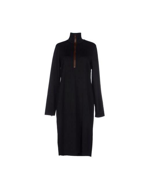Ralph Lauren Black Label   Женское Чёрное Платье До Колена