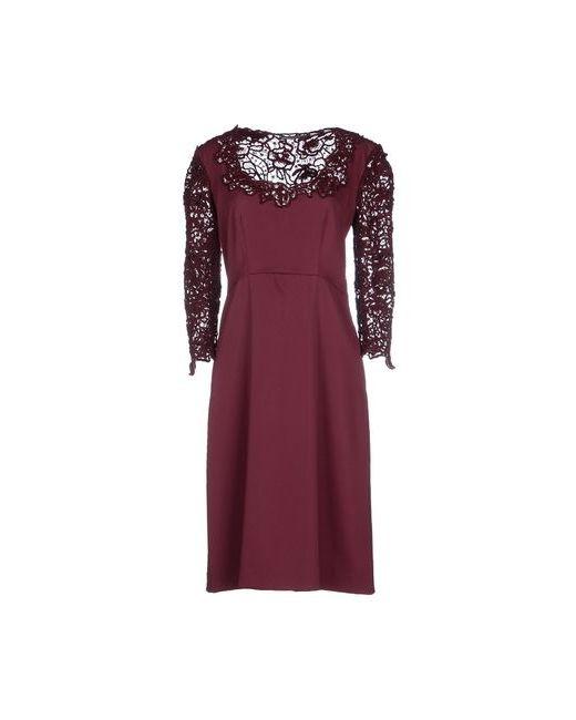 Ermanno Scervino   Женское Фиолетовое Короткое Платье