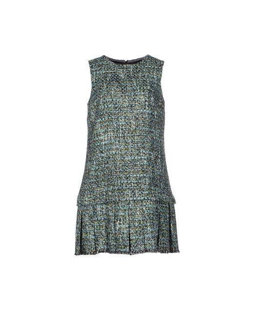 Dolce & Gabbana | Женское Голубое Короткое Платье