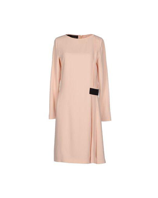 Cedric Charlier | Женское Розовое Платье До Колена