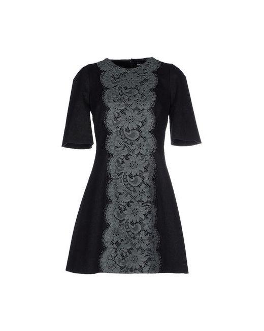 Dolce & Gabbana | Женское Серое Короткое Платье