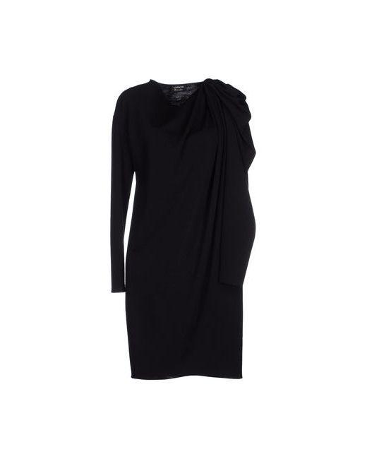 Lanvin   Женское Чёрное Короткое Платье