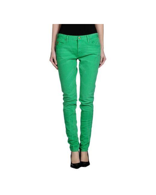 Ralph Lauren   Женские Зелёные Джинсовые Брюки