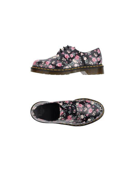 Dr. Martens | Женская Чёрная Обувь На Шнурках