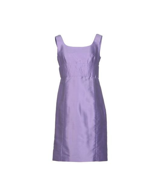 Armani Collezioni | Женское Фиолетовое Короткое Платье