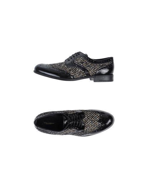 Dolce & Gabbana | Женская Песочная Обувь На Шнурках