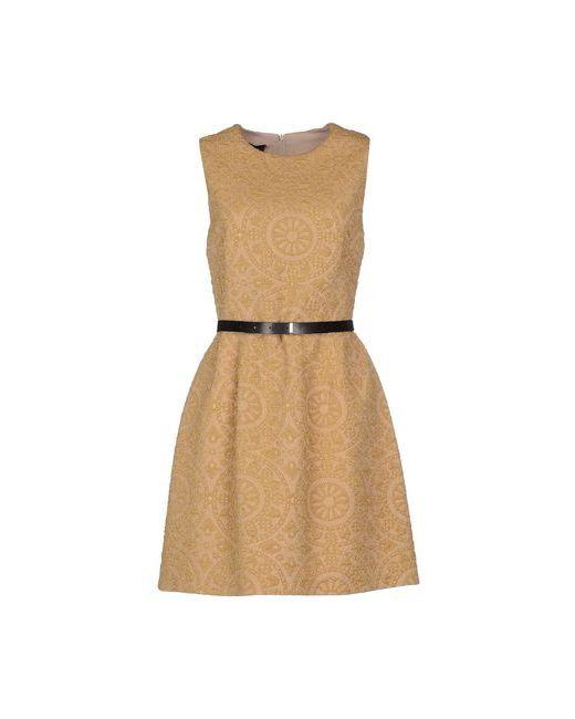 ATOS LOMBARDINI | Женское Охра Короткое Платье
