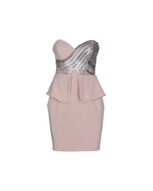 Lipsy | Женское Розовое Короткое Платье