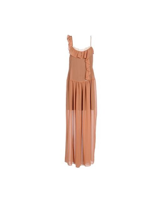 Toy G. | Женское Телесное Длинное Платье