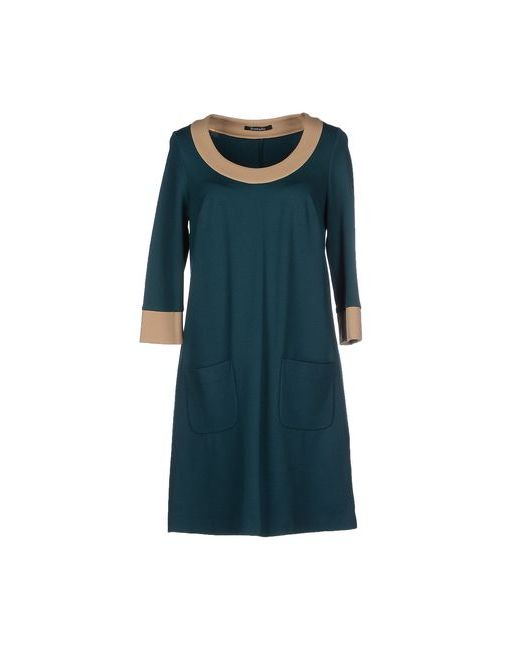 SCOOTERPLUS | Женское Цвет Морской Волны Короткое Платье