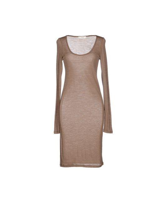 Suoli | Женское Хаки Короткое Платье