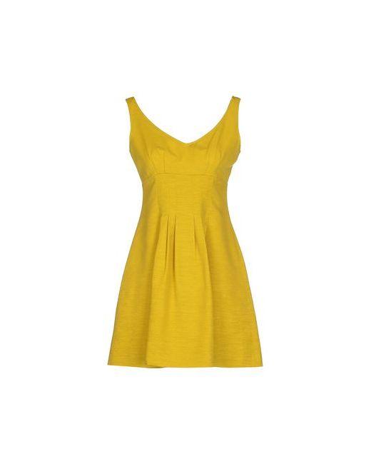 Max & Co. | Женское Жёлтое Короткое Платье