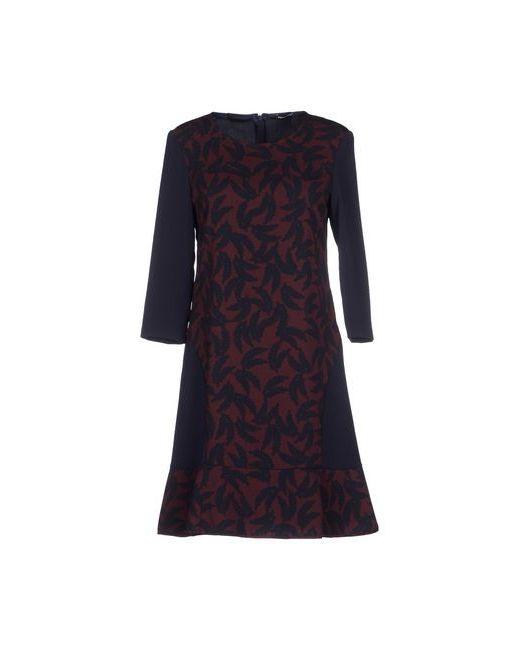 Pennyblack   Женское Баклажанное Короткое Платье