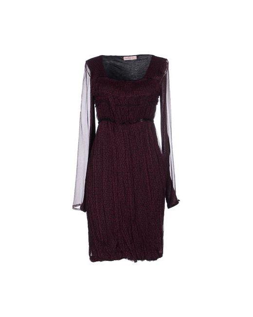 Annarita N. | Женское Баклажанное Короткое Платье