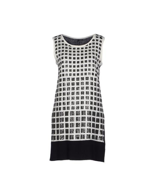 Pianurastudio | Женское Белое Короткое Платье