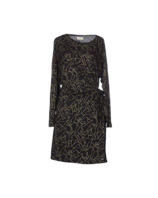 Numph | Женское Чёрное Короткое Платье