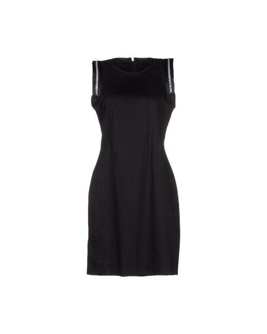 Versace Jeans | Женское Чёрное Короткое Платье