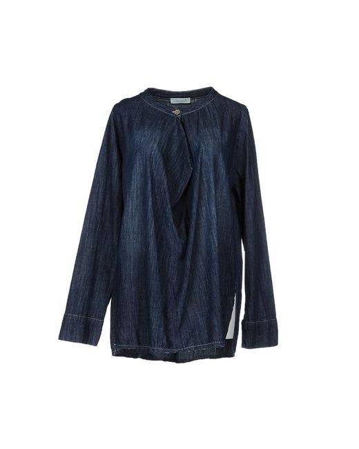 Souvenir Clubbing | Женская Синяя Джинсовая Рубашка