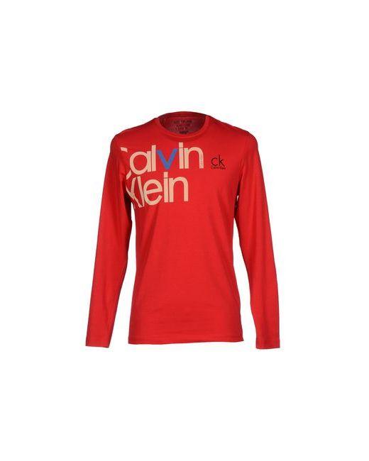 Calvin Klein Jeans | Мужская Красная Футболка