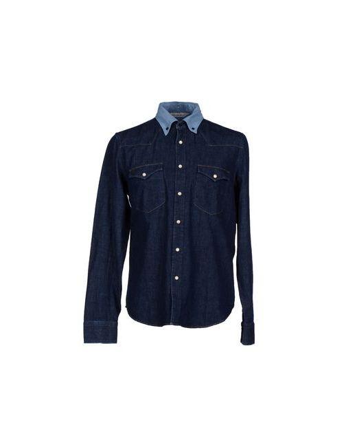Golden Goose | Мужская Синяя Джинсовая Рубашка