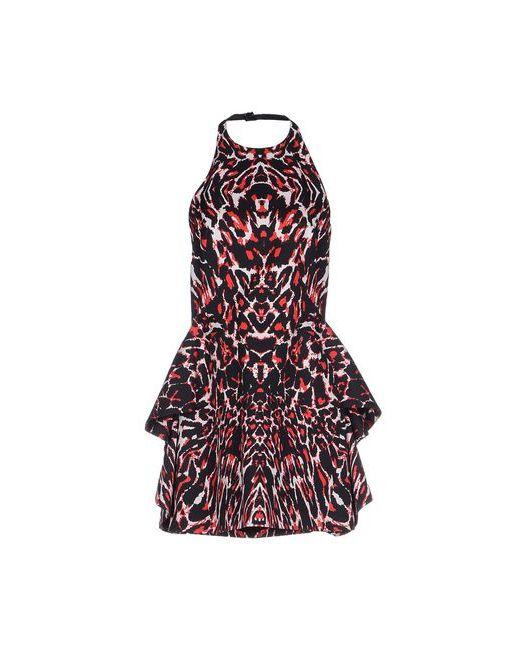Mcq Alexander Mcqueen   Женское Красное Короткое Платье
