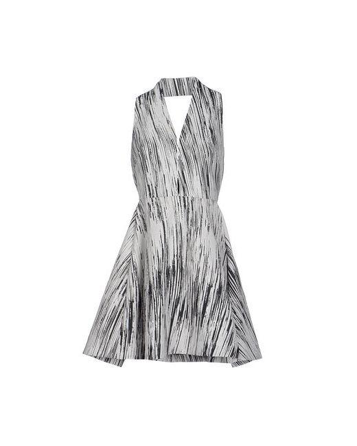 Kenzo | Женское Серое Короткое Платье