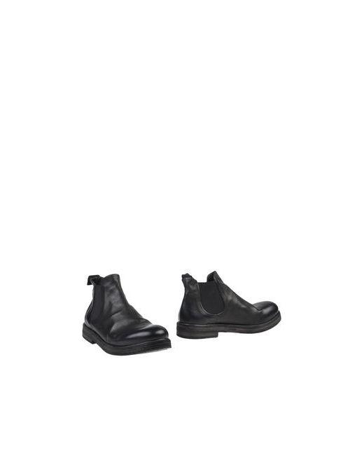 Marsell   Мужские Чёрные Полусапоги И Высокие Ботинки