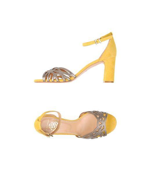 Maliparmi | Женские Жёлтые Сандалии
