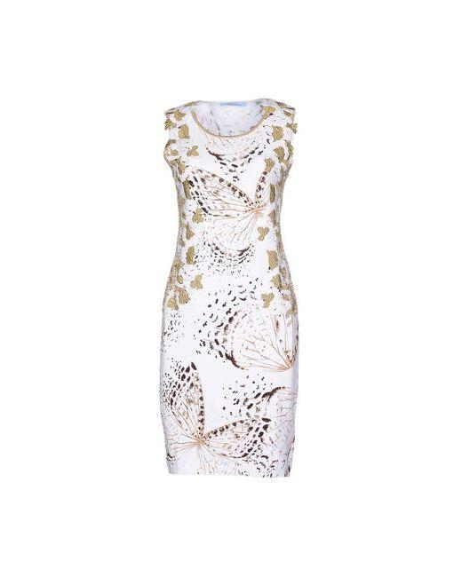 Blumarine | Женское Белое Короткое Платье