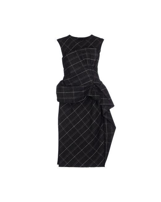 Lanvin   Женское Серое Платье До Колена