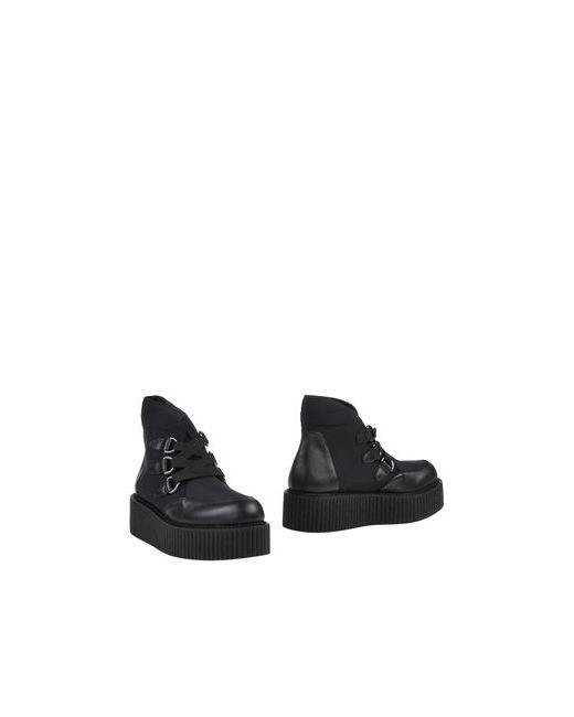 Fessura | Женские Чёрные Полусапоги И Высокие Ботинки