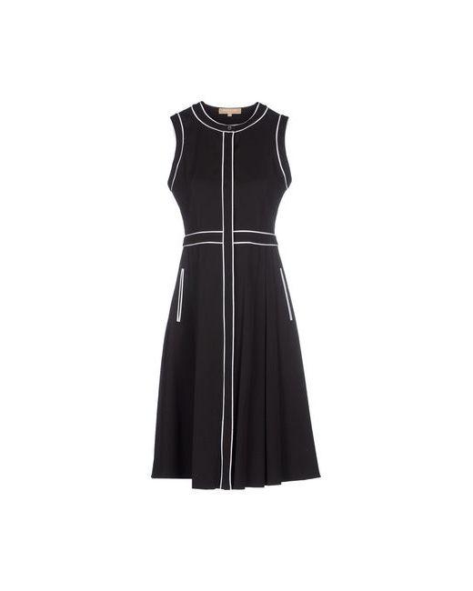 Michael Kors   Женское Чёрное Платье До Колена