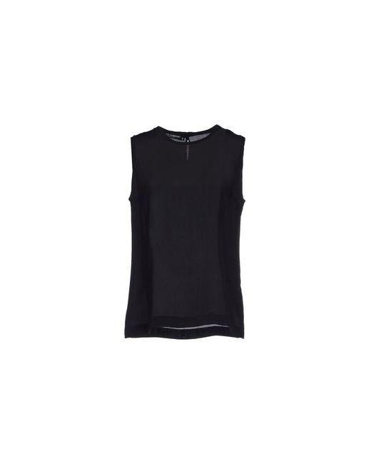 Dolce & Gabbana | Женский Чёрный Топ Без Рукавов