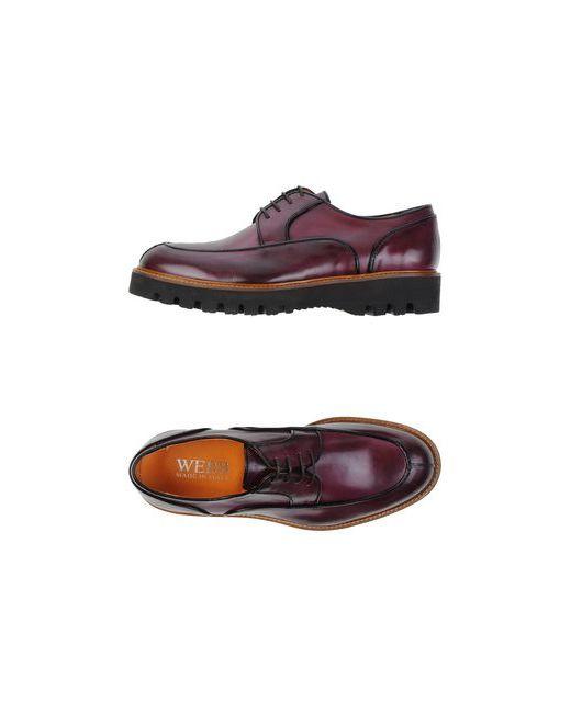 Webb   Мужская Коричневая Обувь На Шнурках