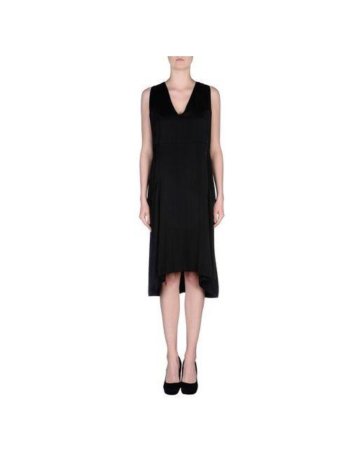 Dondup   Женское Чёрное Платье До Колена
