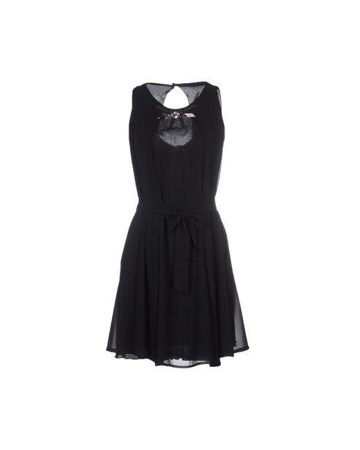Siste' S   Женское Чёрное Короткое Платье