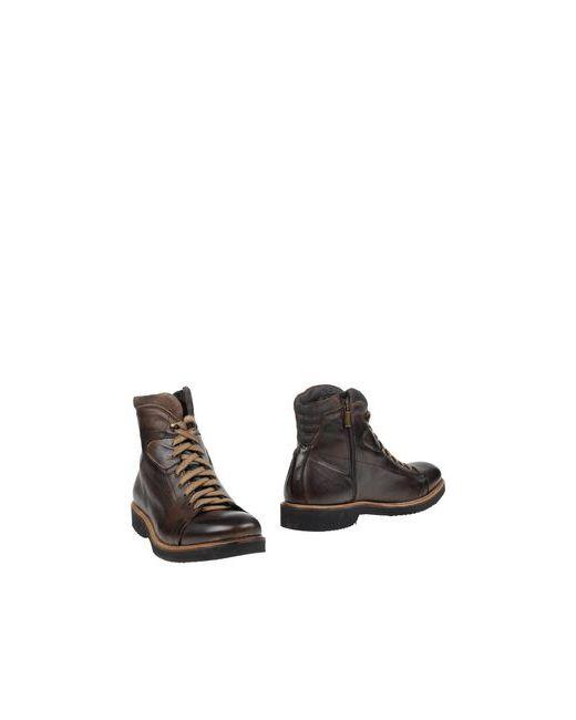 Cafènoir | Мужские Коричневые Полусапоги И Высокие Ботинки