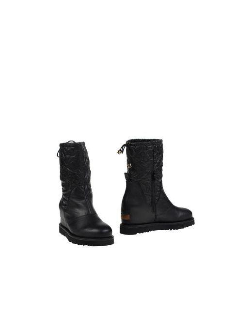 Cafènoir | Женские Чёрные Полусапоги И Высокие Ботинки