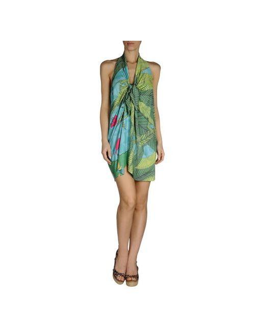 Agogoa | Женское Зелёное Пляжное Платье