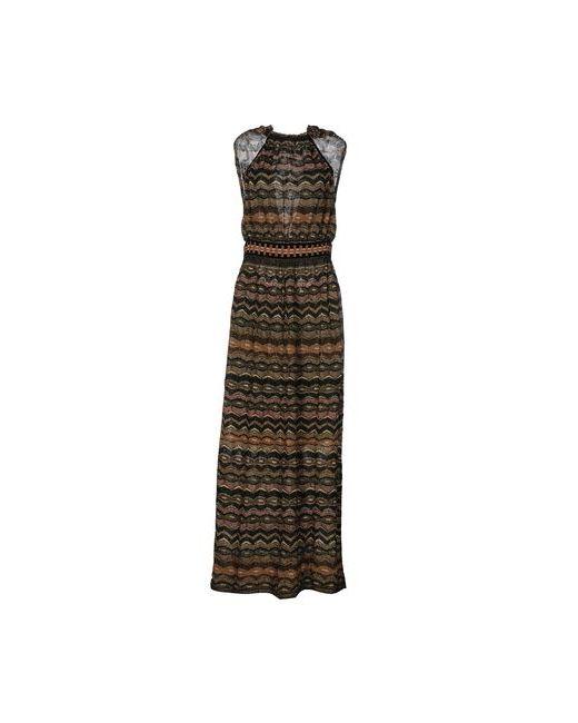 Missoni | Женское Чёрное Длинное Платье